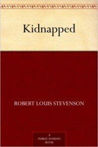2016-01-04 Kidnapped book cover Robert Louis Stevenson