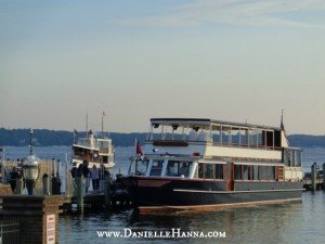 The Lake Geneva Mailboat at home port.
