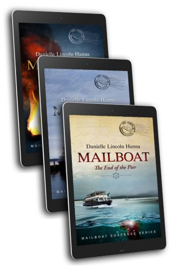 The Mailboat Suspense Series Boxed Set, Books 1-3, by Danielle Lincoln Hanna