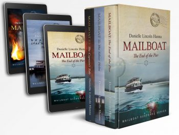 The Mailboat Suspense Series, Books 1-3, by Danielle Lincoln Hanna