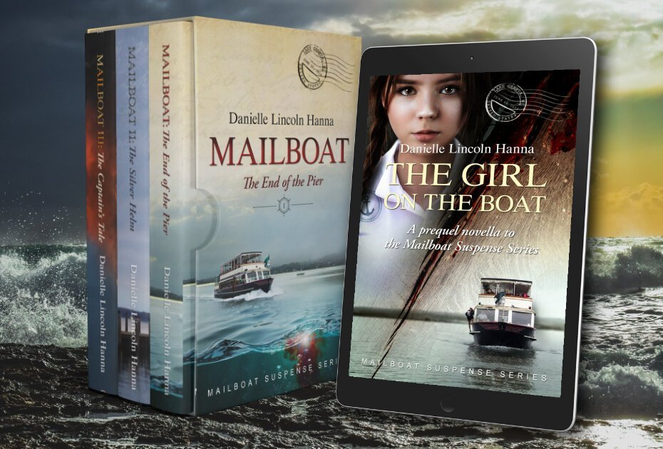 The Mailboat Suspense Series by Danielle Lincoln Hanna