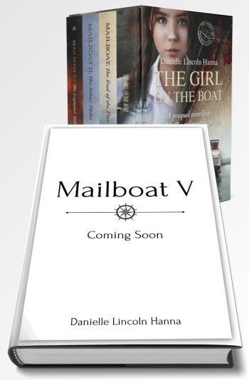 Mailboat Suspense Series Boxed Set, Books 1-5 plus prequel, hardback